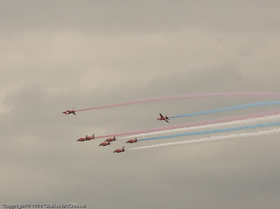 Red Arrows at Tall Ships Greenock 2011