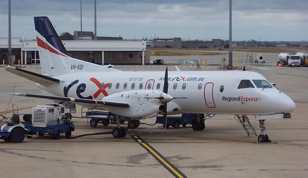 Regional Express Saab 340B VH-KDI