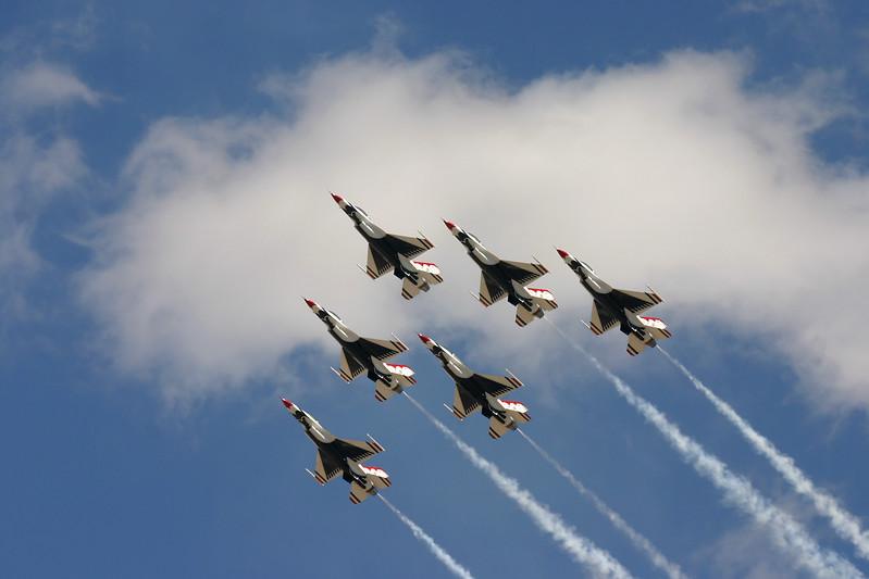 Air Force Thunderbirds.
