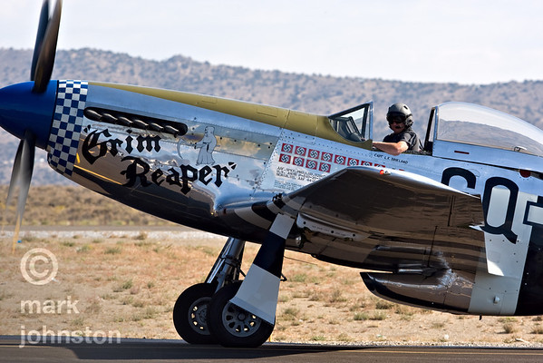 The National Championship Air Races and Air Show feature several classes of up to laps aircraft racing together for up to eight laps around a closed course demarcated by specially marked poles [pylons] at speeds exceeding 500 mph.  The event, held each September at Nevada's Reno Stead Field, also includes a large static aircraft display, aerobatic performances and flight demonstrations by military and civil aircraft, and related events.  For more information, visit http://www.airrace.org/