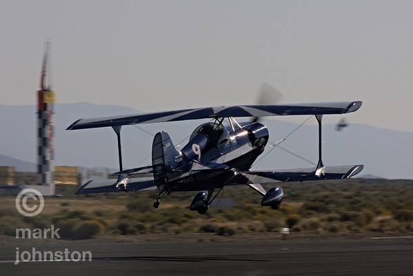 The Biplane Class at Reno is a way for pilots to become involved in racing with relatively inexpensive stock aircraft.