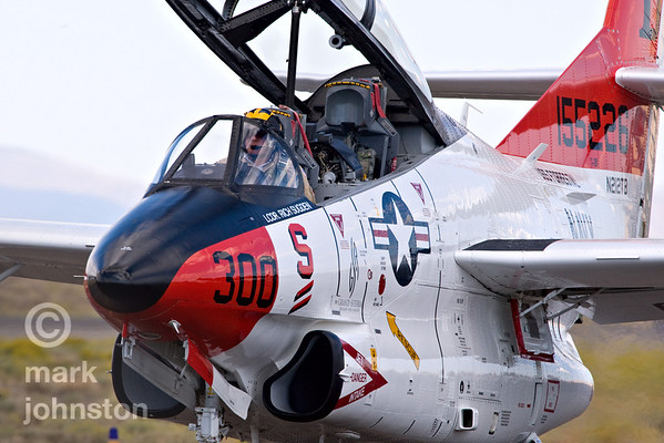 "The Reno National Championship Air Races is the only place in the World where you can see five days of REAL AIR RACING by six classes of aircraft up close and personal. The Air Races have been run since 1964 near Reno, Nevada, USA, and are currently held at Reno Stead Field, about eight miles North of Reno.  Race aircraft in the Unlimited Class reach speeds of over 500 mph - by far the fastest-moving machines in motorsports! The event also includes a world-class air show featuring top aerobatic performers, military and civil flight demonstrations, and a large display of static aircraft.  The Jet Class is the newest racing class at Reno. The Jet Class was first run in 2002 as an invitation-only class, featuring match racing with Czech-built Aerovodochody L-39 ""Albatros"" jets. In 2004 the Class was opened to participation by any qualified pilot.  In 2007, the Class was further expanded to allow participation by any non-afterburning jet with less than 15° of wing sweep - aircraft like the Fouga Magister, North American T-2 Buckeye, Lockheed T-33, Aerovodochody L-29 Dauphin, etc."