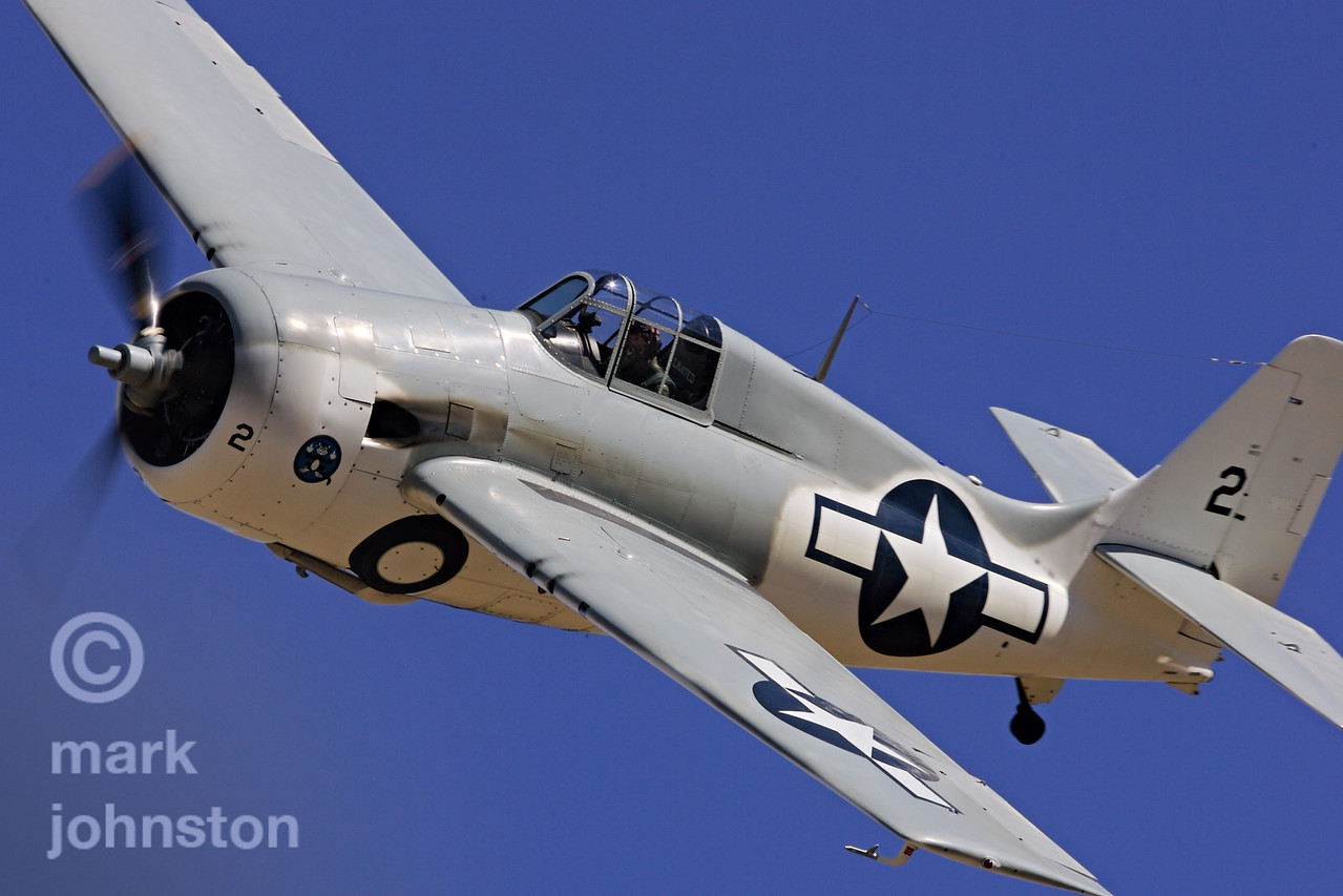 Tom Camp's Grumman Wildcat, while one of the slowest of the Unlimited Class racers, is still a treat to see on the race course and on the ramp at the Reno Air Races.