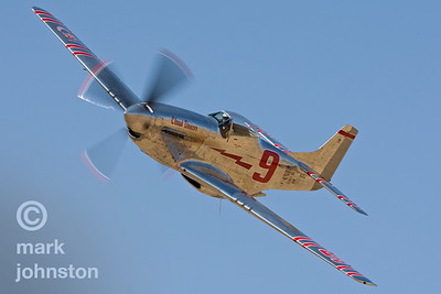 "Jimmy Leeward and Unlimited Class Race 9, ""Cloud Dancer"", a North American P-51D Mustang."