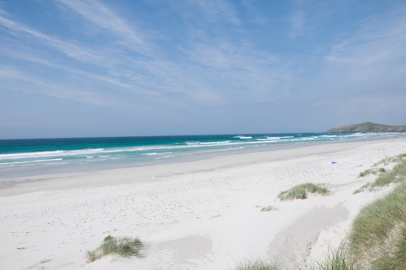 When the sun shines there are few places on Earth as sublime as Scotland. A deserted beach on Barra