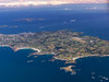 and this is Guernsey seen from FL090. France forms the horizon at the top. Jersey is top right. ASG are the European Commander experts - efficient, thorough and neat with it. They are based at the field on Guernsey.  Need a component? I guess this is a good place to start your search.