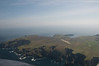G-OOJP. Arriving at Fair Isle, an insignificant speck of rock in the North Atlantic