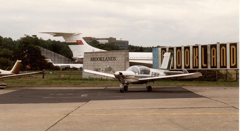 Morane-Saulnier MS.894A Rallye Minerva 220GT G-BKBF, Brooklands 1995