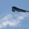 A U.S. Airforce B-2 bomber flies over Rocky Mountain Metropolitan Airport during Saturday's Rocky Mountain Airshow.<br /> August 27, 2011<br /> staff photo/ David R. Jennings
