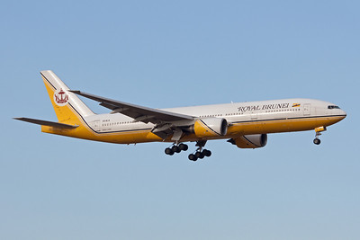 Royal Brunei Boeing 777-200ER V8-BLA