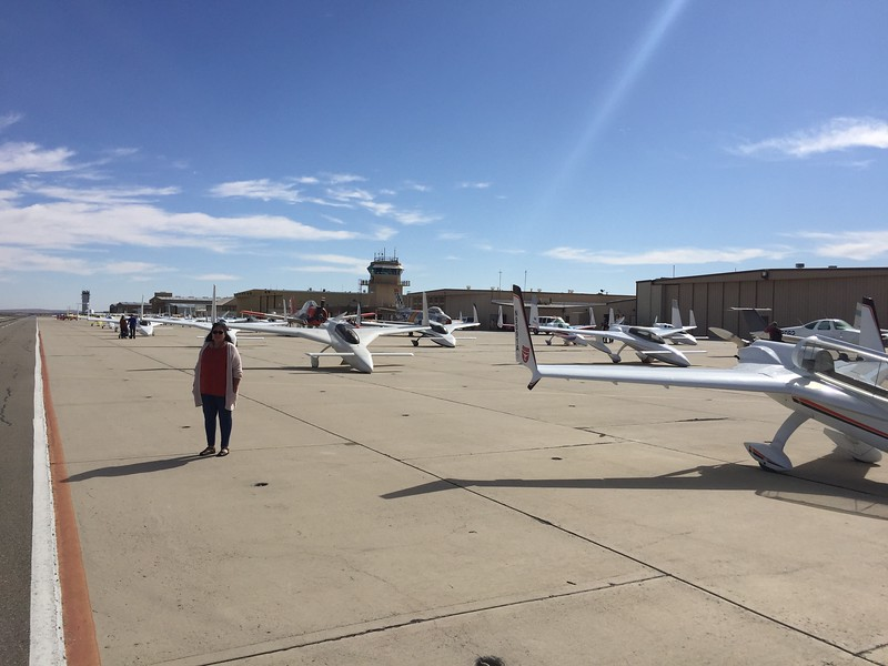 There were quite a few Rutan aircraft in attendance.