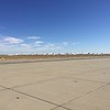 We got right in and landed. Here's the vast boneyard of B-747's and other jets about to be recycled.