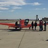 A beautiful Bellanca Cruisemaster that flew in from nearby Tehachapi.