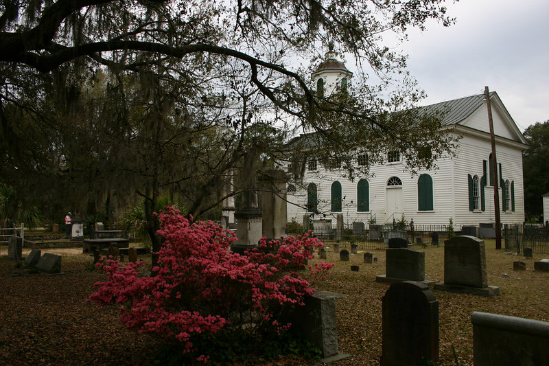Presbyterian Church Edisto island Founded 1685. Hwy. 174