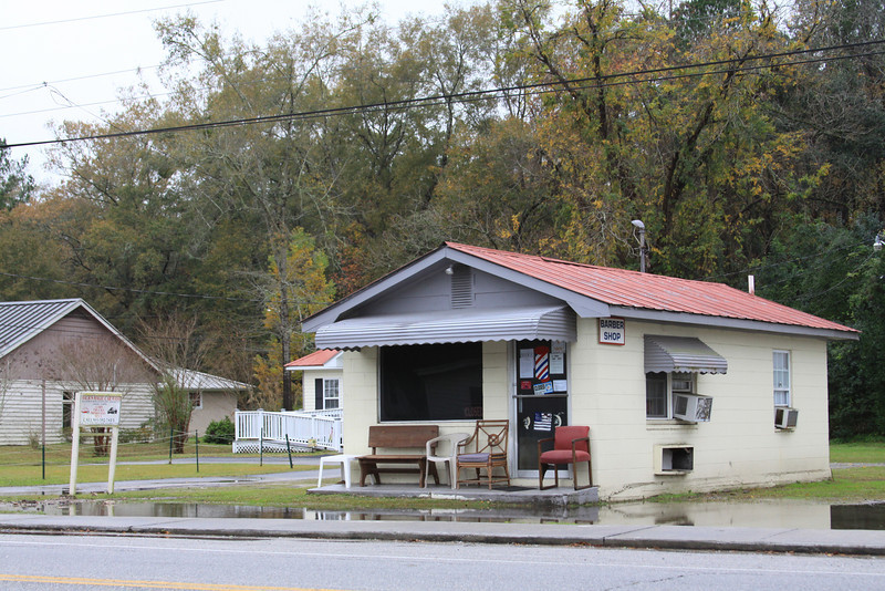 Barber Shop, Yemassee, SC