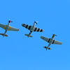The P51 Horsemen were next up.  These are WWII P-51 Mustangs.