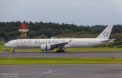 9V-SWJ SINGAPORE AIRLINES B777-300 ( STAR ALLIANCE)