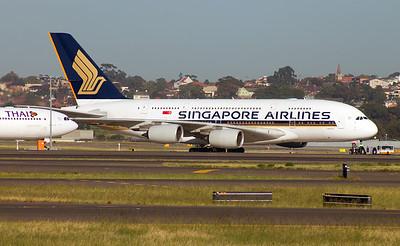 9V-SKG SINGAPORE AIRLINES A380