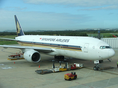 9V-SRM SINGAPORE AIRLINES 777-200 Brisbane to Singapore