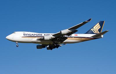9V-SFK SINGAPORE AIRLINES CARGO B747-400F