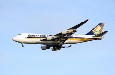 9V-SFF SINGAPORE CARGO B747-400F