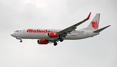 9M-LNM MALINDO B737-800
