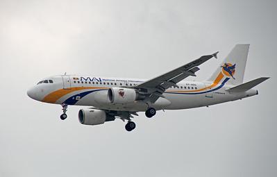 XY-AGU MYANMAR AIRWAYS A319