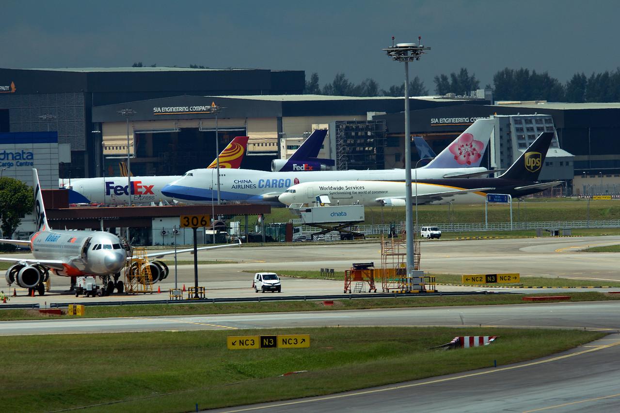 SINGAPORE AIRPORT CARGO LINE