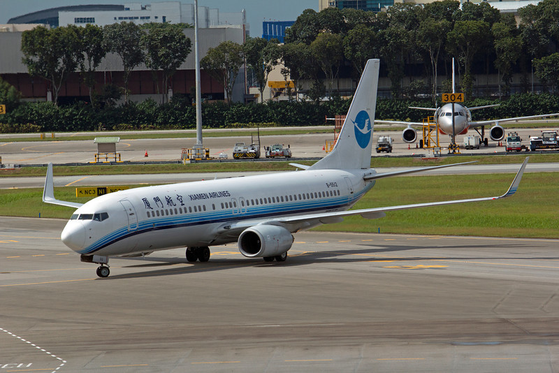 B-5512 XIAMEN AIRLINES B737-800