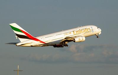 A6-EDM EMIRATES A380