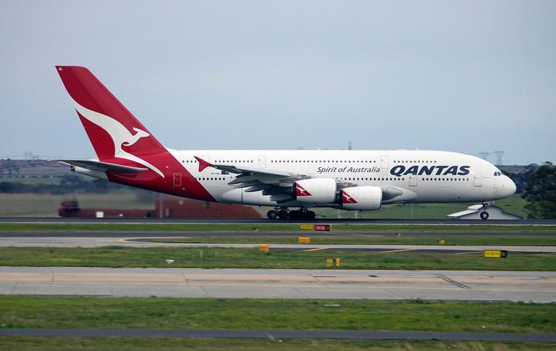 VH-OQL QANTAS A380