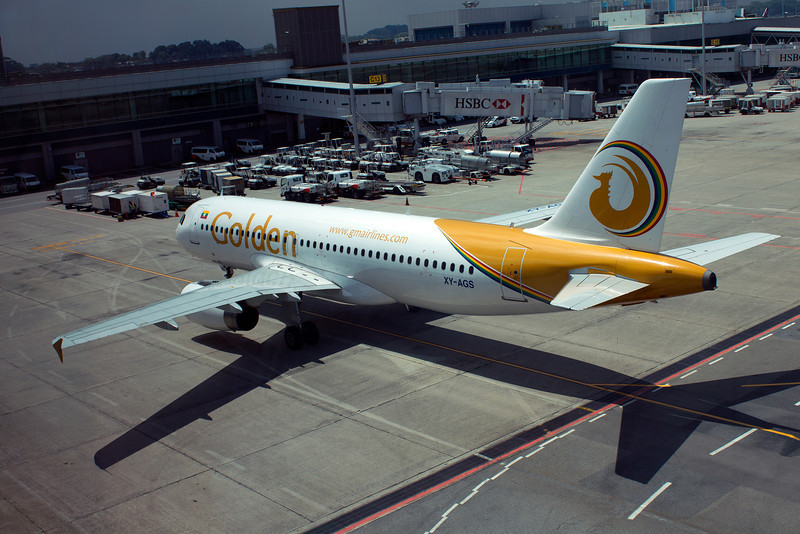 XY-AGS GOLDEN AIRLINES A320