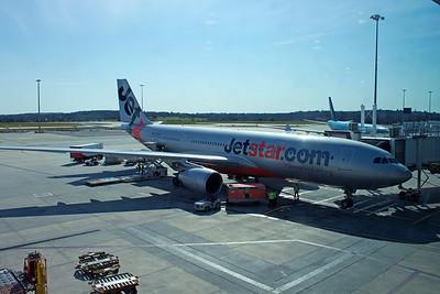 VH-EBF JETSTAR A330-200  MELBOURNE TO SINGAPORE 2013