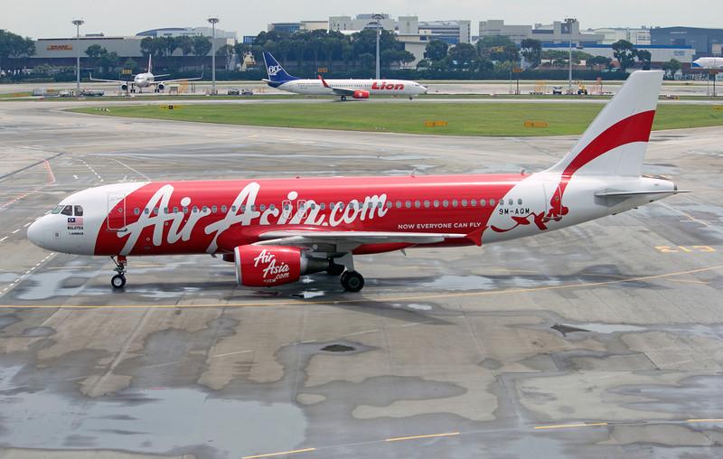9M-AQM AIR ASIA A320