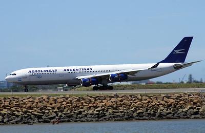 LV-BMT AEROLINEAS ARGENTINAS A340-300