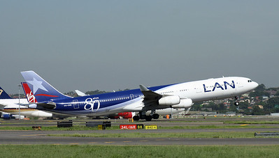 CC-CQG LAN AIRLINES A340-300