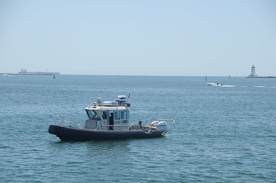 Plenty of Harbor Police presence