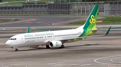 JA02GR SPRING AIRLINES B737-800