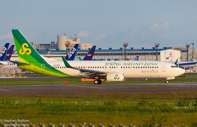 JA04GR SPRING AIRLINES B737-800