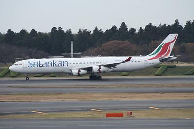 4R-ADE SRI LANKAN A340-300