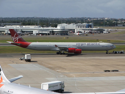 G-VRED VIRGIN ATLANTIC A340-600