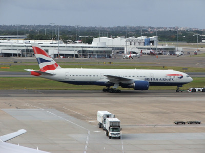 G-YMMP BRITISH AIRWAYS B777
