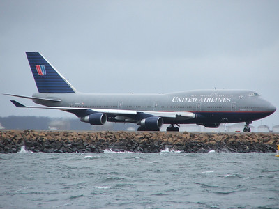 N120UA UNITED AIRLINES B747-400