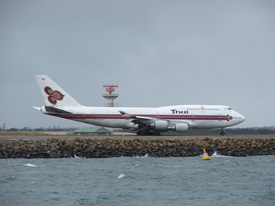 HS-TGY THAI INTERNATIONAL B747-400