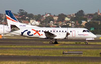 VH-ZRC REX SAAB-340B