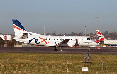 VH-ZRK REX SAAB-340B