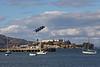 USA 2011 - San Francisco Fleet Week - Training US Navy Blue Angels - Thursday 6 October 2011<br /> Alcatraz