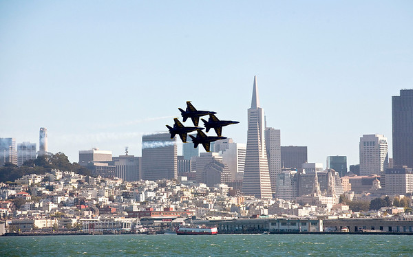 San Francisco Blue Angles 2010