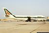 Alitalia 747, Registration I-DEMD, Kennedy Airport, August 1981