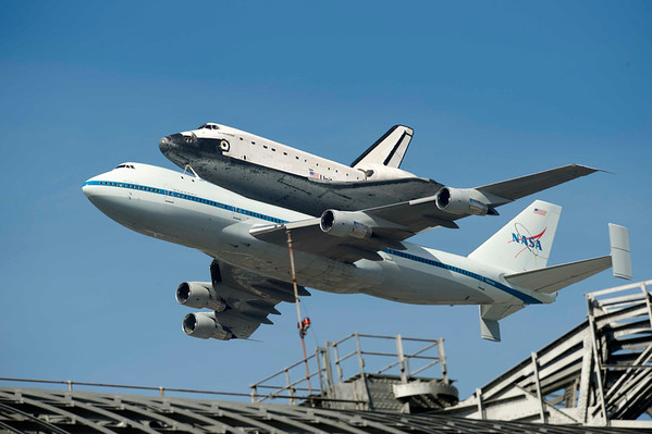 Shuttle Fly By
